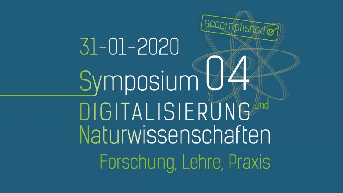 31.01.2020 / Digitalisierung und Naturwissenschaften / Forschung, Lehre, Praxis