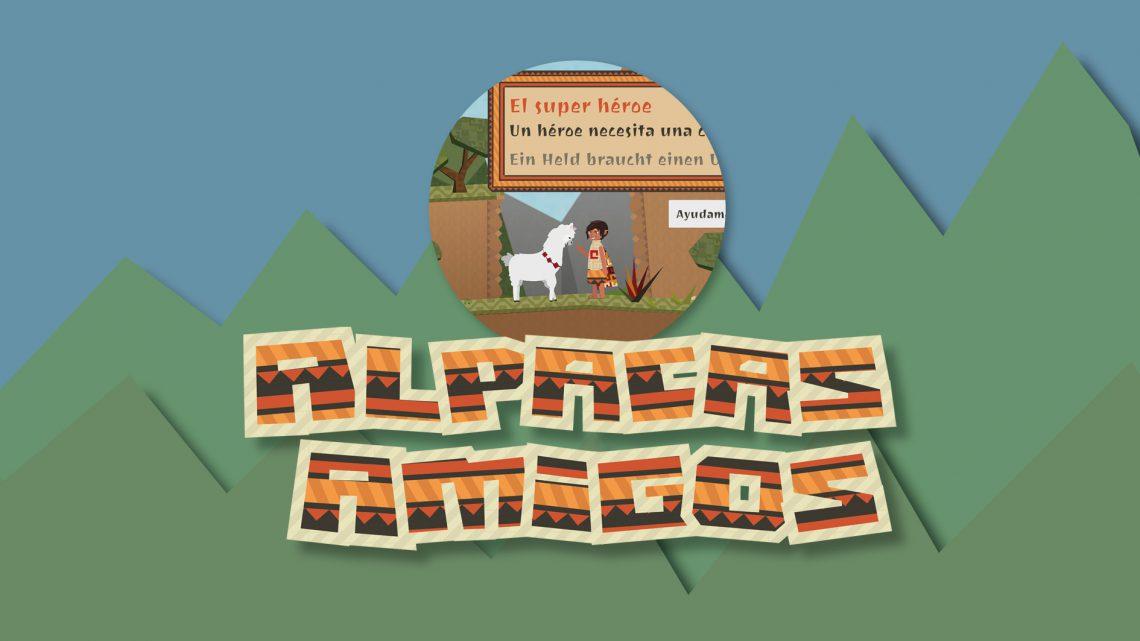 "Sprachlernapp – ""Alpacas Amigos"""