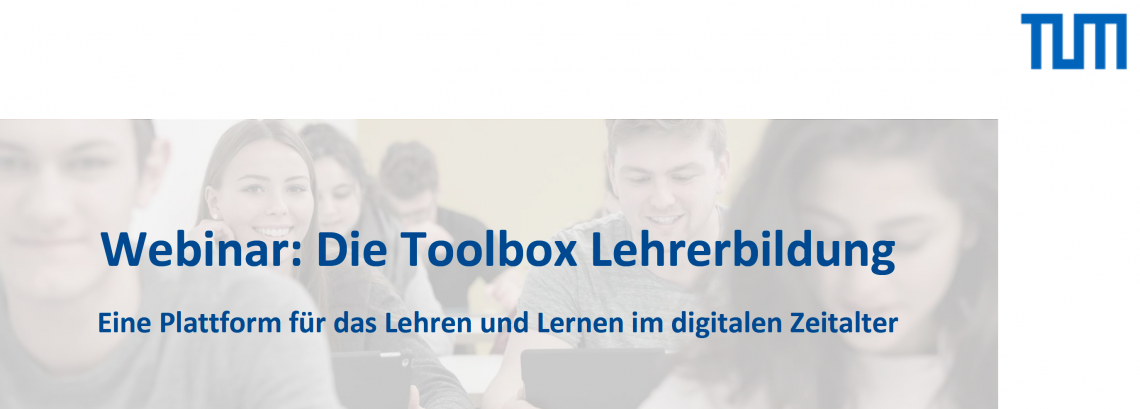 18.06.2020 / Webinar / Toolbox der Lehrerbildung